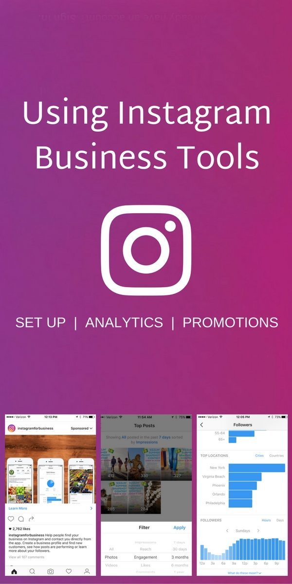 Instagram launches new tools for businesses including analytics, advertising, and a helpful dashboard to make your Instagram presence more effective and measurable. Learn more.