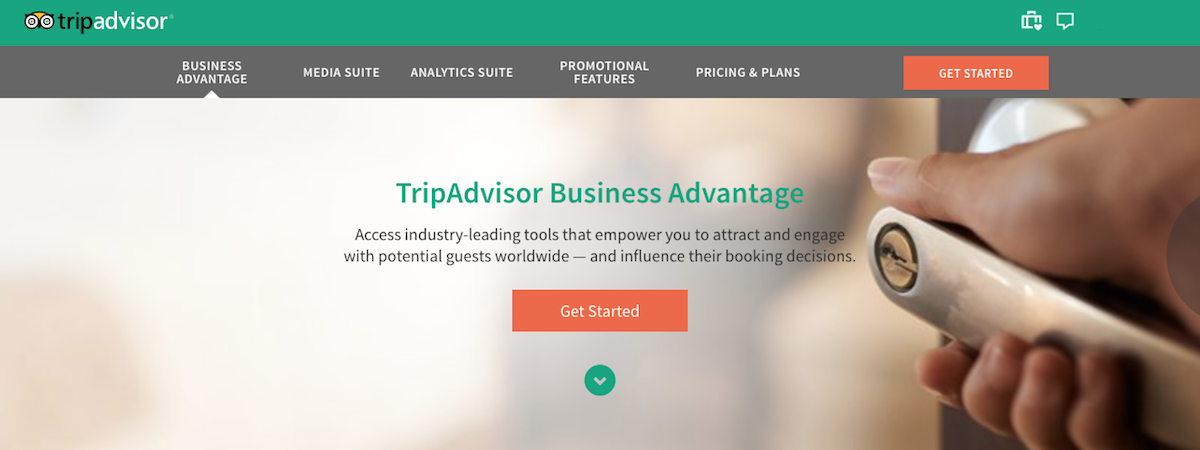 TripAdvisor Busines Advantage