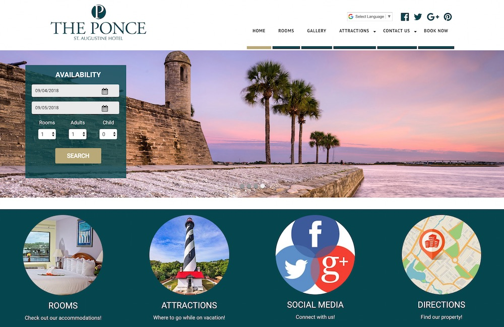 Compass Theme The Ponce