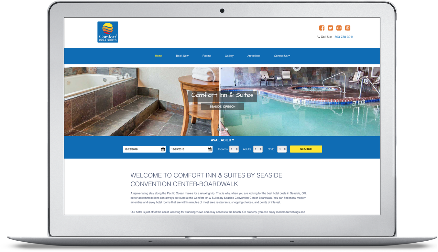Comfort Inn & Suites by Seaside Convention Center/Boardwalk