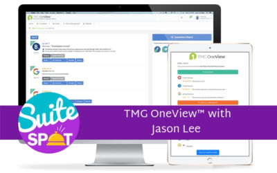 29 –  TMG OneView™ with Jason Lee