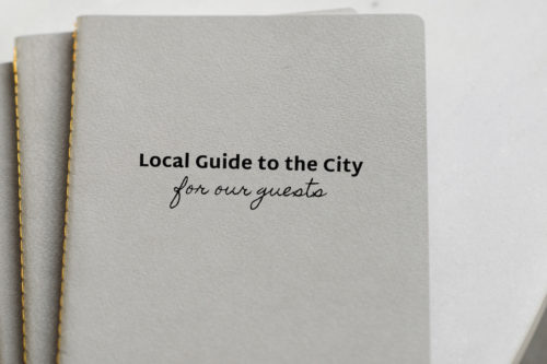 Create a Local Guide for Your Guests