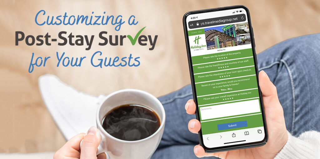 download the white paper about customizing a post-stay guest survey